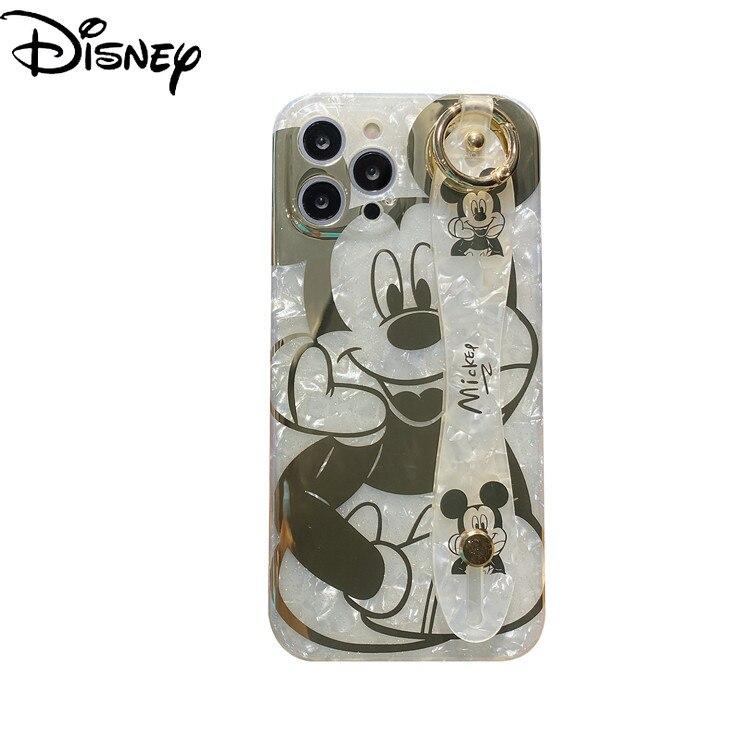 Оригинальный чехол для телефона Disney с Микки и Минни для iPhone 7/8P/X/XR/XS/XSMAX/11/12Pro/чехол для телефона для девочек