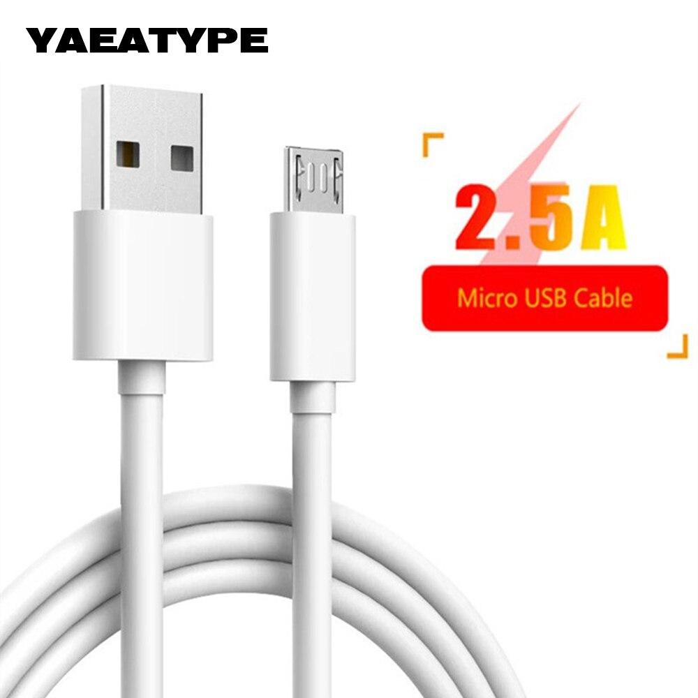 Cable Micro Usb de carga de datos Cable de cargador para teléfono móvil para Samsung Galaxy J3 J5 J7 J2 2017 2018 S7 borde s6