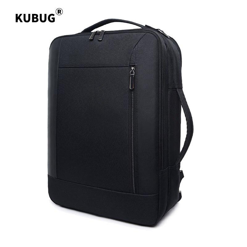 KUBUG-حقيبة ظهر للكمبيوتر المحمول مقاس 15.6 بوصة متعددة الأغراض ، مضادة للسرقة ، مع شاحن USB ، حقيبة كتف واحدة ، مقاومة للماء ، للسفر