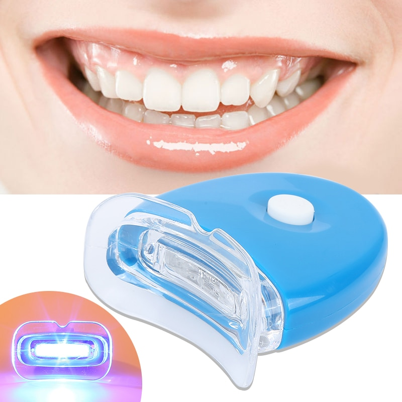1 lumière de PC LED ménage Mini lampe de blanchiment des dents produits de blanchiment des dents femmes hommes santé soins bucco-dentaires livraison directe TSLM1