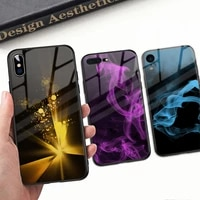 tempered glass phone case for iphone 6 6s plus 8 7 plus x xr xs max 11 12 pro max case for tempered glass back case cover