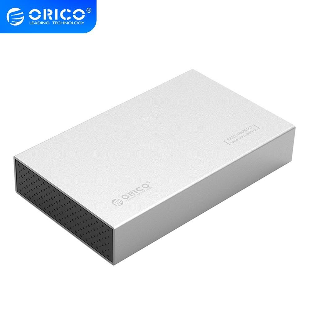 ORICO 3.5 HDD muhafaza USB3.1 C tipi Hdd adaptörü Samsung sabit Disk sürücü kutusu 10TB Max harici depolama HDD kutusu (şerit)