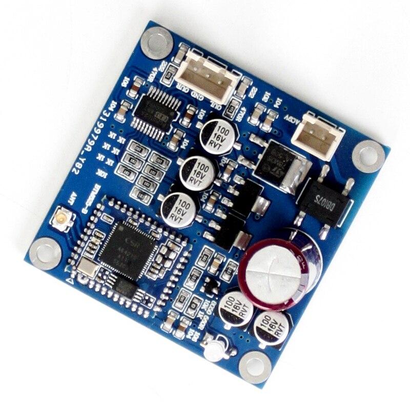Placa amplificadora de potencia AC6-12V 1A 2020 con Bluetooth CSRA64215, placa amplificadora estéreo con Bluetooth 4,2 (compatible con Aptx-ll), novedad de 4,2