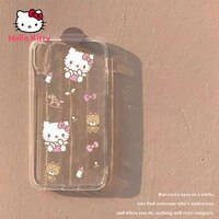 hello kitty for iphone 78pxxrxsxsmax1112pro12mini cute cat transparent ultra thin soft shell