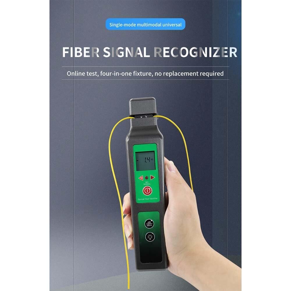 Ftth ferramenta de teste KFI-40 identificador óptico de fibra ao vivo komshine KFI-40 com display led identificando direção quebra verificador