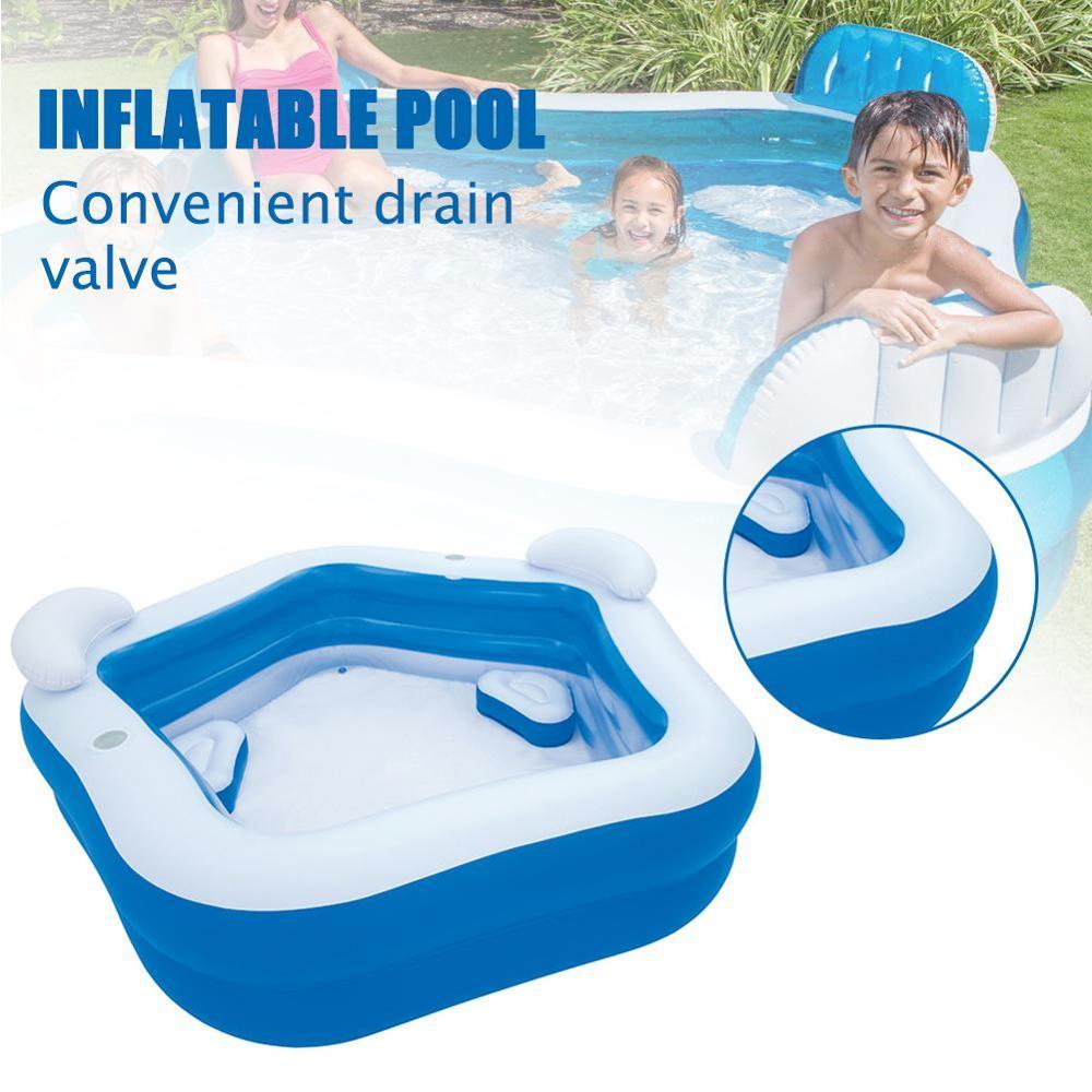213x207x69cm PVC 풍선 수영장 품질 대형 수영 센터 가족 수영장 아기 어린이 성인 여름 파티 수영장 홈