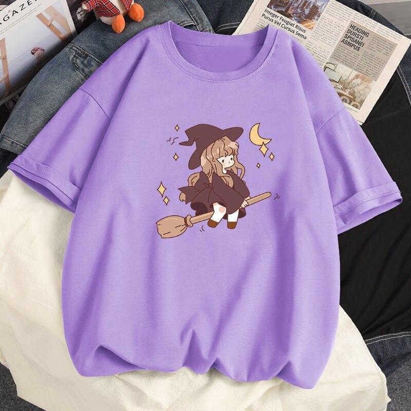 100% Cotton T Shirt Woman Fashion Summer O Neck Short Sleeve T-shirt Woman 2021 New Women Shirts Korean Style Plus Size Shirt