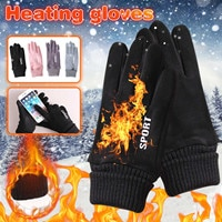 Winter Cold-proof Ski Gloves Waterproof Gloves Cycling Fluff Warm Gloves For Touchscreen Cold Weather Windproof Slip Wholesale