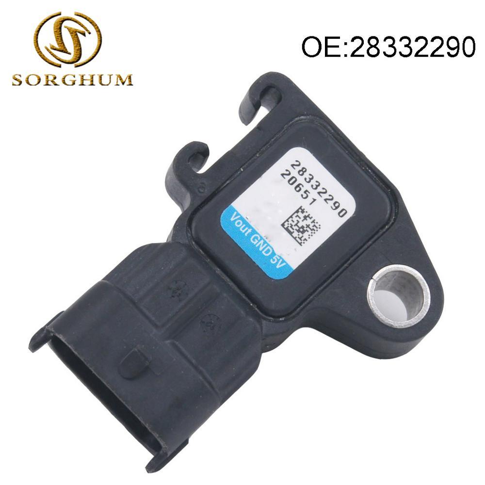 Nuevo colector de admisión absoluta Sensor de presión MAP 28332290 para DELPHI...