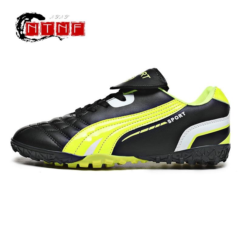 Soccer Sneakers Kids Turf Training Soccer Cleats Children Breathable Outdoor Sport Sneakers Football Footwear Fustal Hombre