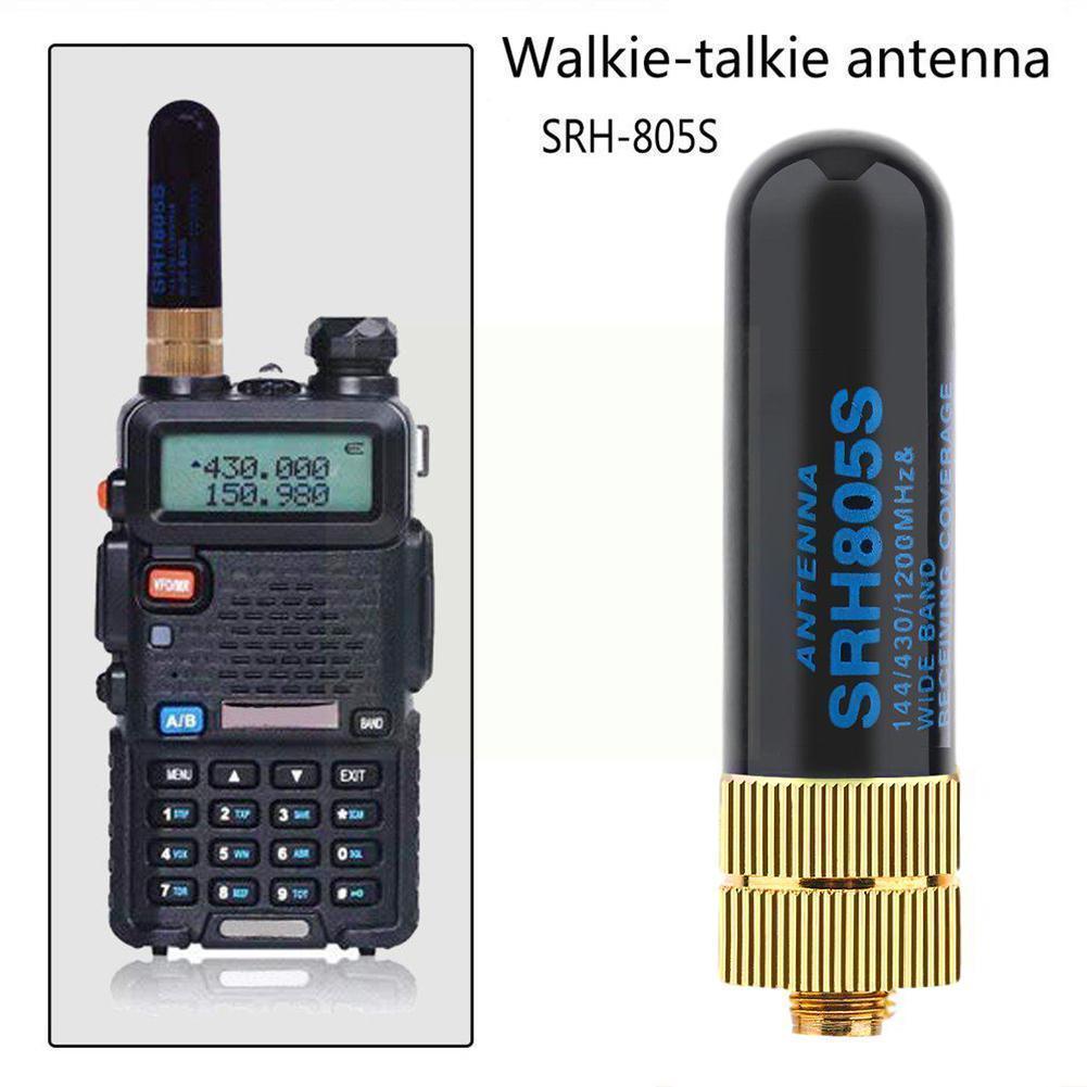 Двухдиапазонные антенны UHF + VHF SRH805S SMA, Женская антенна для Baofeng voor TK3107 Talkie UV-82 Walkie 888S UV-5R 2107 J9L6