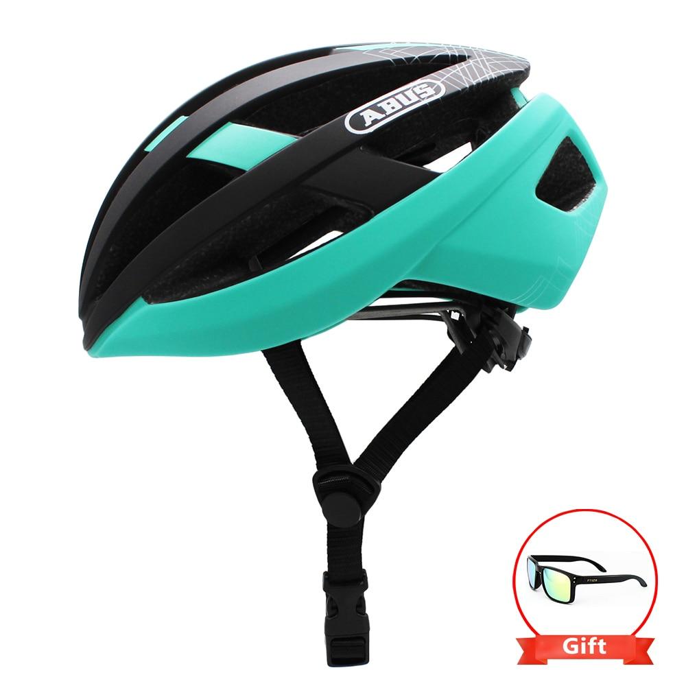 ABUS Casco de bicicleta de carretera bicicleta ciclismo Casco deportivo de seguridad...