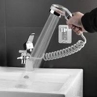 Extension de robinet de lavabo  salle de bain  douche externe  lavabo  separateur deau  pulverisateur de Bidet pour lavage des cheveux  nettoyage des toilettes