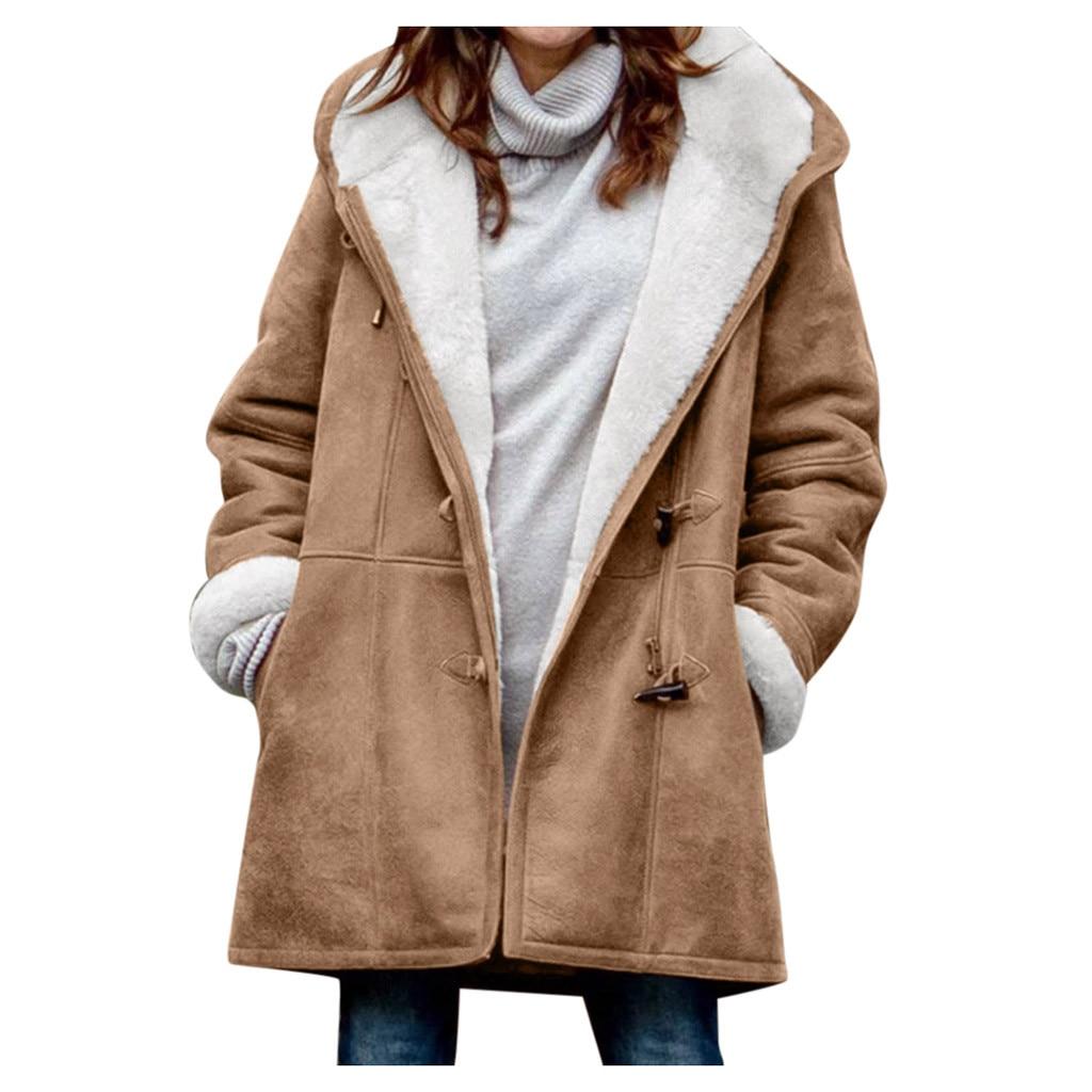2020 New Winter Women's Warm Cotton Jacket Women Korean loose large size long plus velvet Jackets Ho