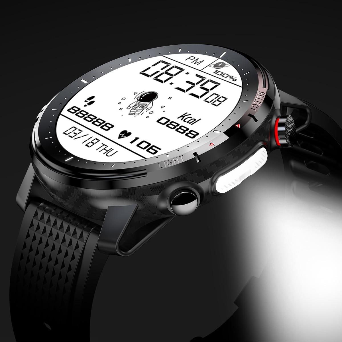 For Xiaomi Huawei Apple Phone Reloj Intelligent Hombre Smartwatch Man IP68 Ekg Ppg Smart Clock Men Android 2021 Blood Oxygen LED enlarge