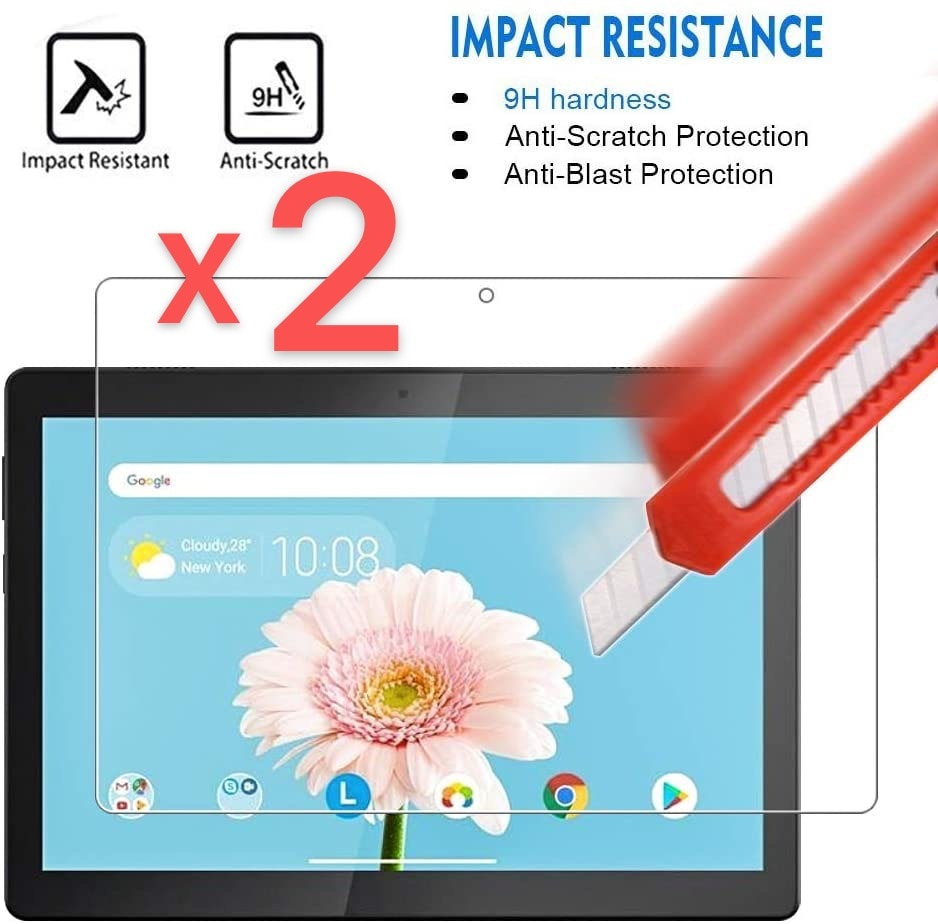 2Pcs Tablet Tempered Glass Screen Protector Cover for Lenovo TAB M10 TB-X605F/TB-X505 10.1 Inch Full Coverage Screen on AliWatcher