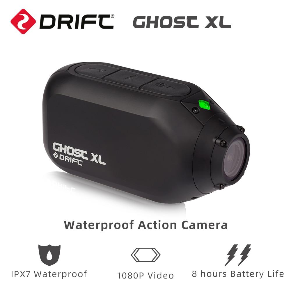 Drift Ghost XL Водонепроницаемая Экшн-камера с водонепроницаемостью IPX7 1080P видео 8 часов автономной работы