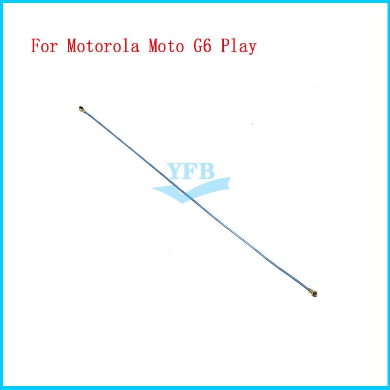 10 pces wifi flex para motorola moto g6 jogar wi-fi antena sinal cabo flexível repari parte