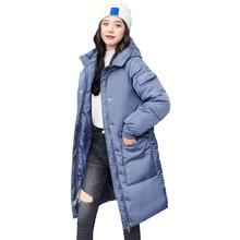 Women Long Oversize Winter Jacket Women Parkas Thick Coat Women Hooded Parka Warm Female Plus Size P