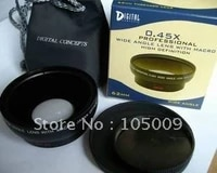 62mm 0 43X Wide Angle Macro Conversion Lens for nikon canon pentax sony olympus DSLR camera