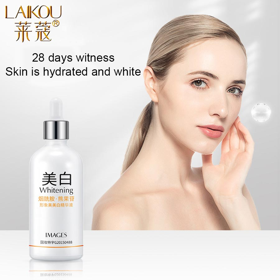 LAIKOU Nicotinamide Face Serum Whitening Essence Hyaluronic Acid Moisturizing Anti-Aging Anti-Wrinkle Shrink Pores Skin Care laikou hyaluronic acid face serum moisturizing shrink pores whitening brightening tighten facial essence liquidskin care 15ml