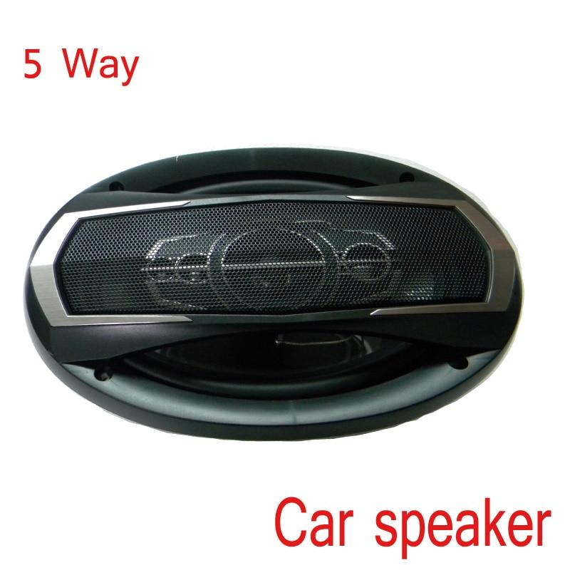 "1 Pc 1200 w 4 ohm Coaxial 6x9"" Car Speaker  I KEY BUY Powerful  HiFi Audio Louder Speakers Alto Falantes Parents,"