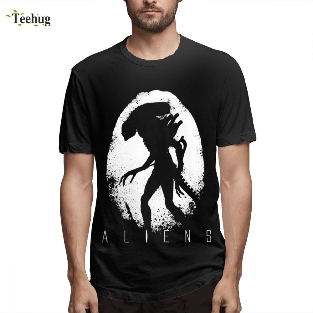 ALIEN Covenant t shirt Homme Tee Shirt Crewneck Male Leisure 3D Print Graphic Tee For Man