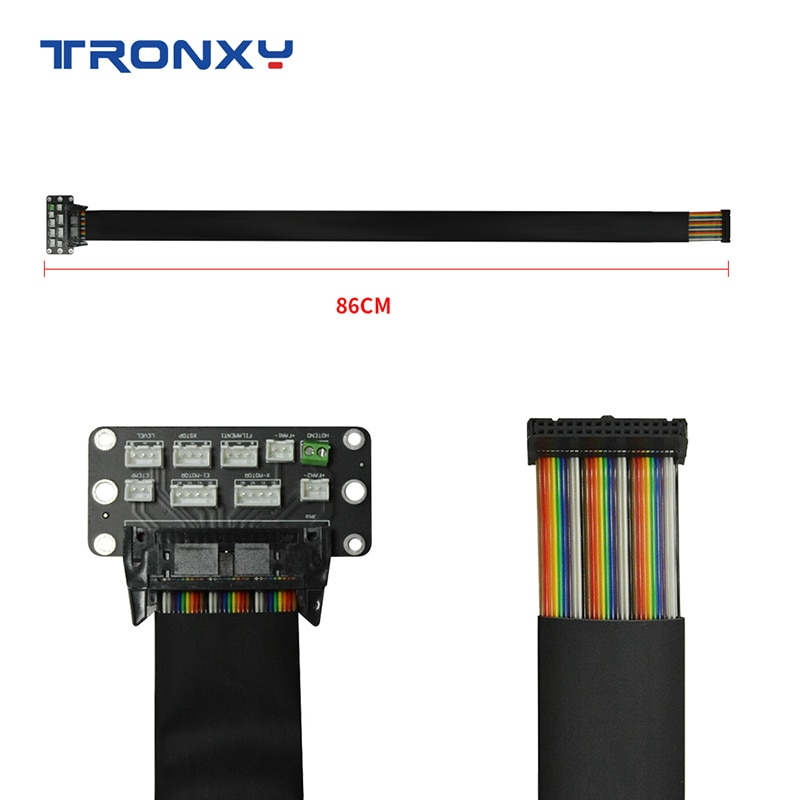 Tronxy 3D Printer Parts&Accessories Adapter Board with 85cm Cable Set Connect to X5SA Series and XY-2 Pro Matherboard