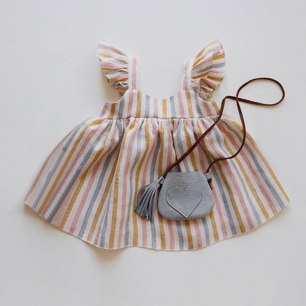 baby girl dress summer children clothing 2017 baby girl clothes cute newborn baby clothes roupas bebe infant kids dresses Baby Girl Dresses Summer Soft Cotton Linen Solid Color Newborn Baby Girl Clothes Cute Infant toddler Girls Clothing