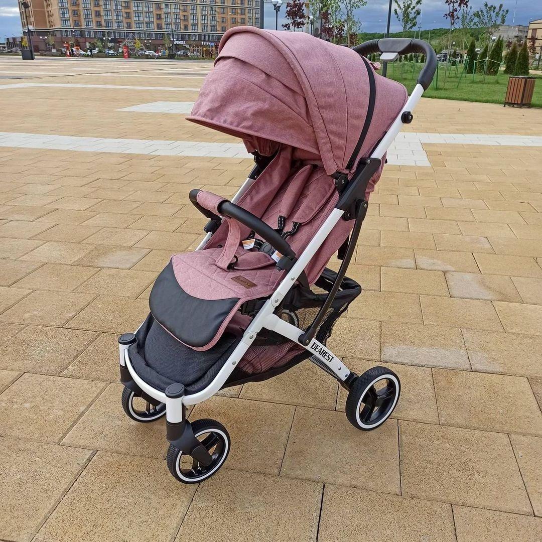 Dearest 818+ Poussette Waterproof Design, Windproof, Foldable Portable Baby Stroller 818 + coches de bebe enlarge