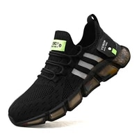 mesh running shoes mens sports shoes outdoor mens sports shoes breathable walking sports shoes running shoes wholesale