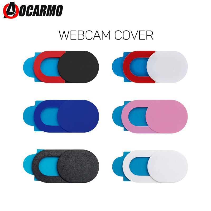 Aocarmo Privacy Protection Plastic Sliding Sheet Webcam Cover For iPhone For iPad Tablet Laptop Fron
