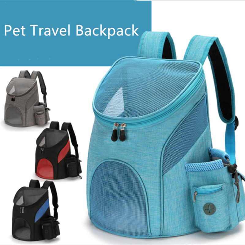AliExpress - Outdoor Pet Travel Double Backpack Foldable Cat And Dog Pet Box Pet Supplies Travel Fashion Pet Carrying Front Bag