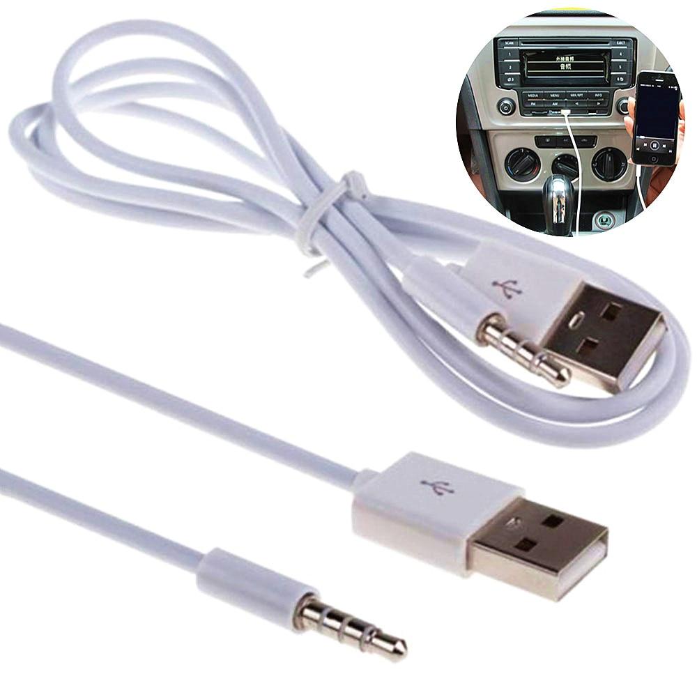 Автомобильный аудиокабель AUX для телефона, USB 3,5 мм, аудиокабель, автомобильные аксессуары для интерьера