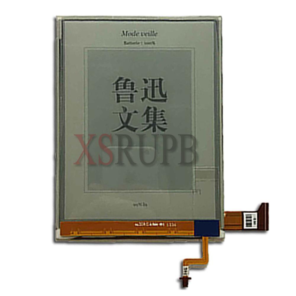 100% novo Display LCD eink tela para roverbook delta(FLHD6.0) eBook reader com backlight nenhum toque frete grátis
