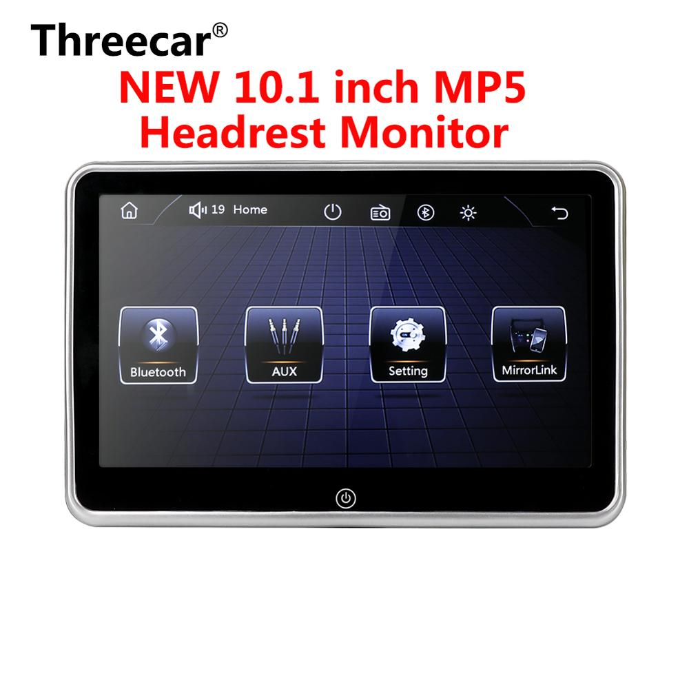 10 inch Ultra-thin Car Headrest Monitor MP5 Player Mirror link Android FM HD 1080P Video Screen With USB/SD Multimedia Player