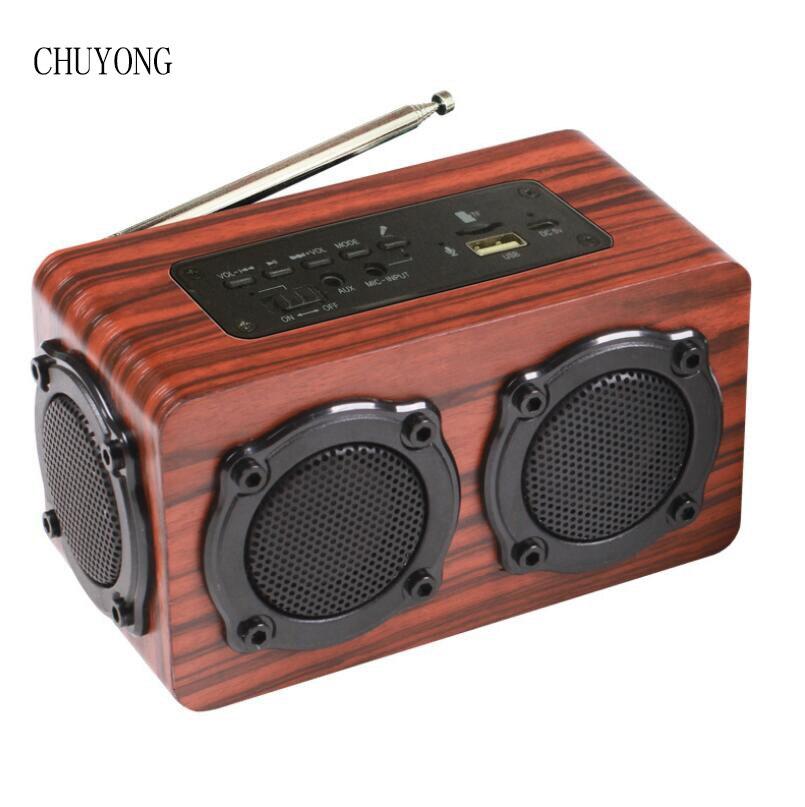 سماعة لاسلكية تعمل بالبلوتوث FM سماعات راديو صغيرة تعمل لاسلكيًا مضخم صوت متعدد الوظائف بطارية 1200mAH سماعات محمولة خارجية عالية الطاقة