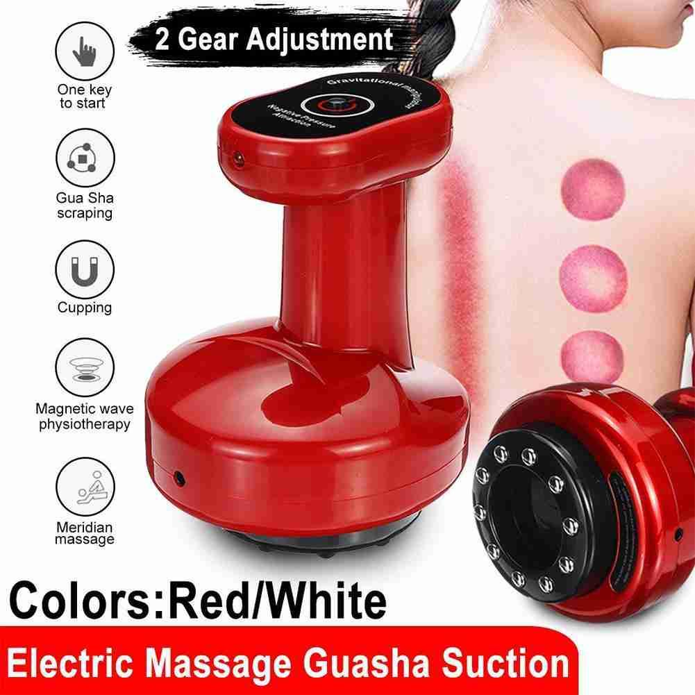 Electric Cupping Massager Vacuum Suction Cups Apparatus Scraping Device Meridian Anti Cellulite Fat Burning Body Slimming electric breast massager chest enlarger enhancer vacuum meridian therapy body scraping cupping anti cellulite massage machine