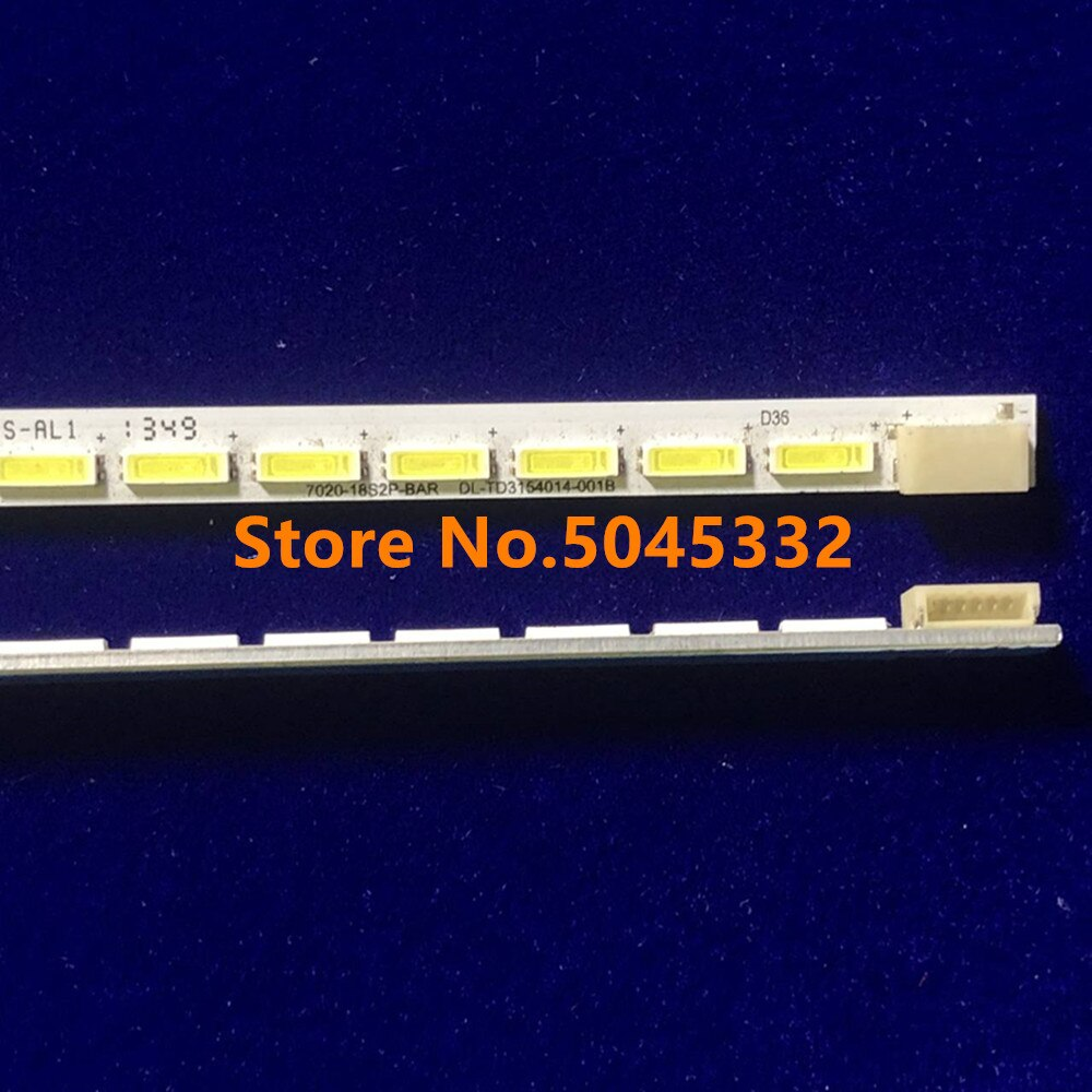 Nova 56LED 493 MILÍMETROS tira conduzida luz de fundo para 40PFL5007T 40PFL5537H 40-ESQUERDA LJ64-03514A 03501A STS400A64 2012SGS40 STS400A75 40RL953