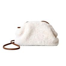New style lamb cloud bag in winter 2019 lykj-yx