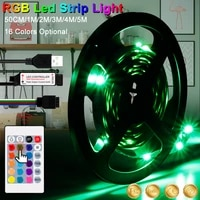 led light strip rgb light strip led light strip 5v usb 2835 waterproof remote control rgb light string tv background decoration