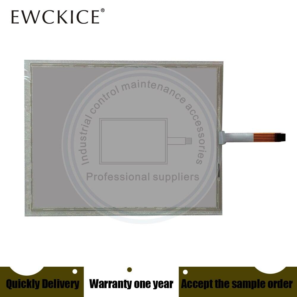 Sensível ao Toque Painel de Membrana Novo Tela 48-f-5-121-001 R2.0 Hmi Plc