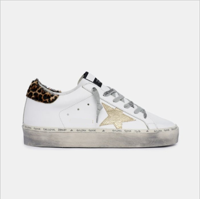 Spring and Summer New First Layer Cowhide Distressed Children's Dirty Shoes Parent-child Star Fashion  Breathable Sneakers QZ59 enlarge
