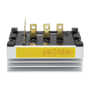 Free shipping Three-Phase AC Synchronous Diesel Generator Rectifier 30A Silicon Rectifier Block Bridge Group STC15kw to 24kw