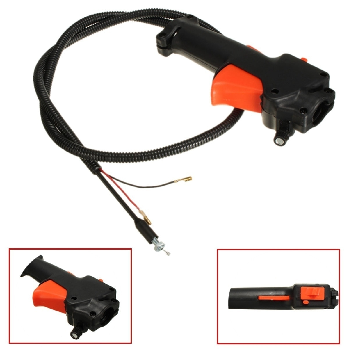 Interruptor de Asa Cable disparador de acelerador para cortadora de césped