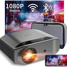 Artlii Energon 2 Projector Full HD Native 1080P Outdoor Projector, 340 ANSI Lumen 250