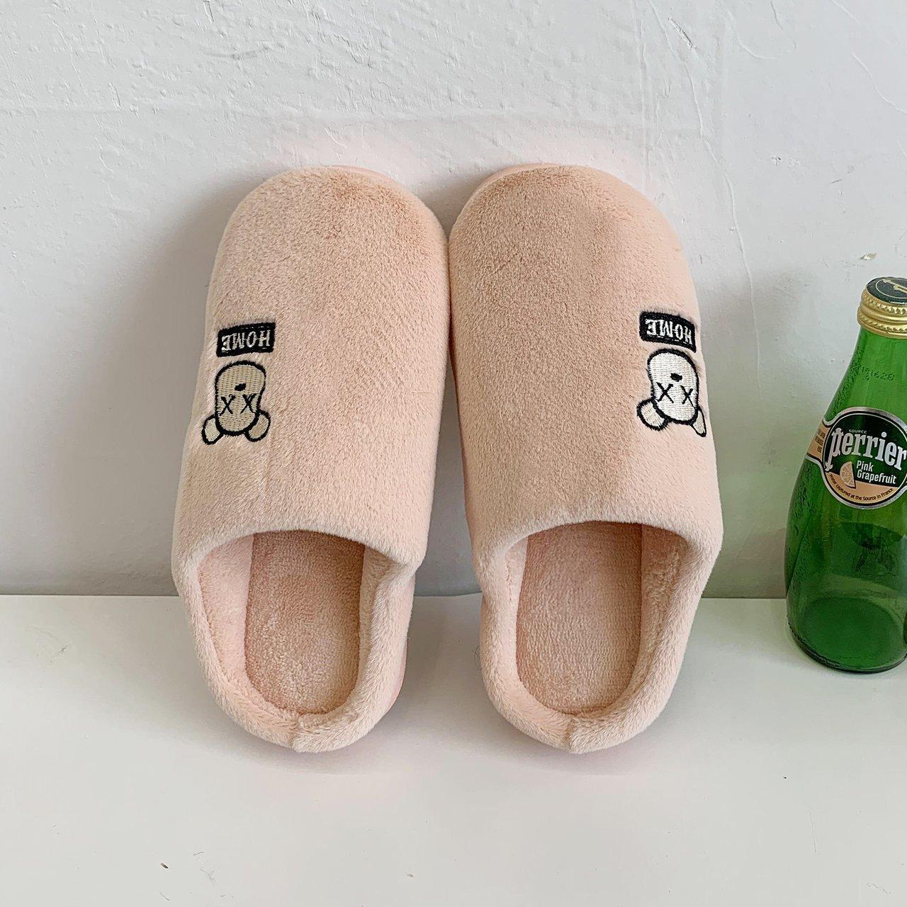 Classic Women Winter Warm Fur Slippers Men Women Boys Girls Slippers House Shoes Flat Heel Home Indo