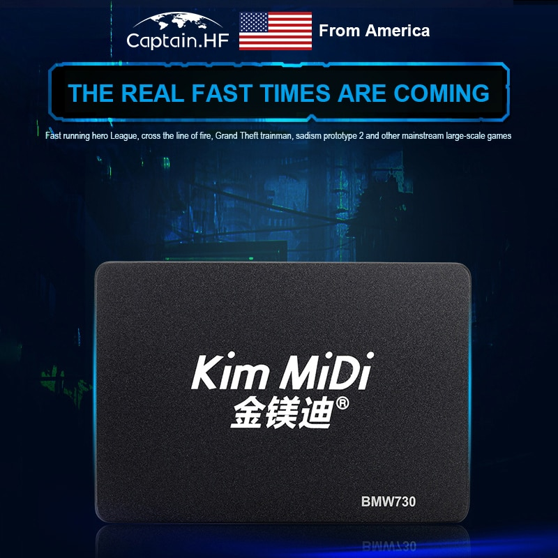 US Captain BMW730 7mm 2.5 inch SATA3 Solid State Drive, Flash Architecture MLC, Capacity 240GB, High Speed Disk enlarge