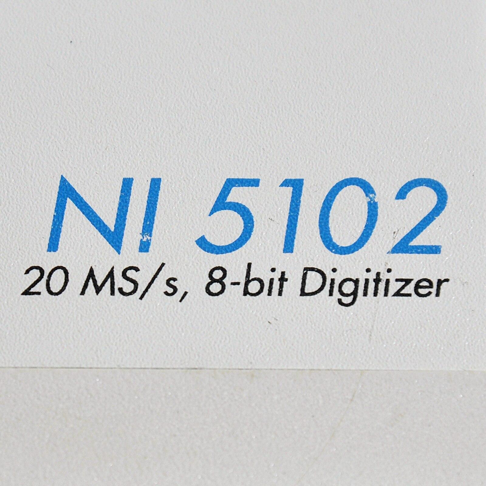 US NI 5102 digital module with manual enlarge