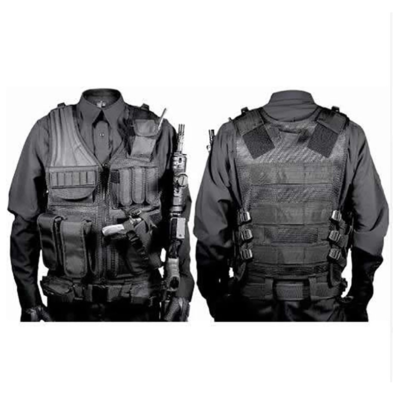 Hunting Security Clothes Swat Tactical Vest Swat Jacket Chest Rig Multi-Pocket  molle Army CS Hunting Vest Camping Accessories army tactical carrier armor chest rig vest harness rifle pistol magazine pouch crx hunting equipment accessories 5 56
